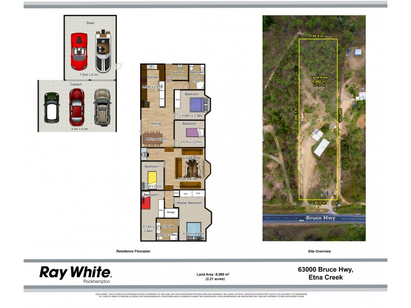 63000 Bruce Highway, Etna Creek QLD 4702 Floorplan