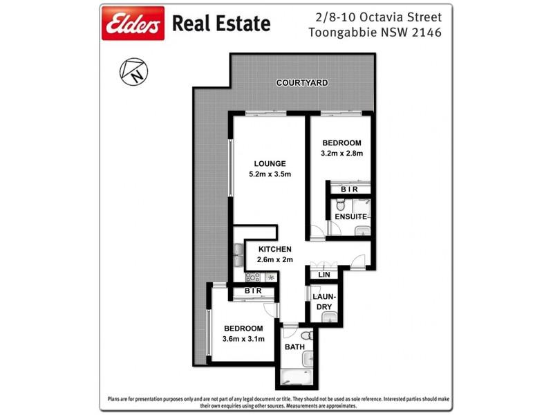 2/8-10 Octavia Street, Toongabbie NSW 2146 Floorplan