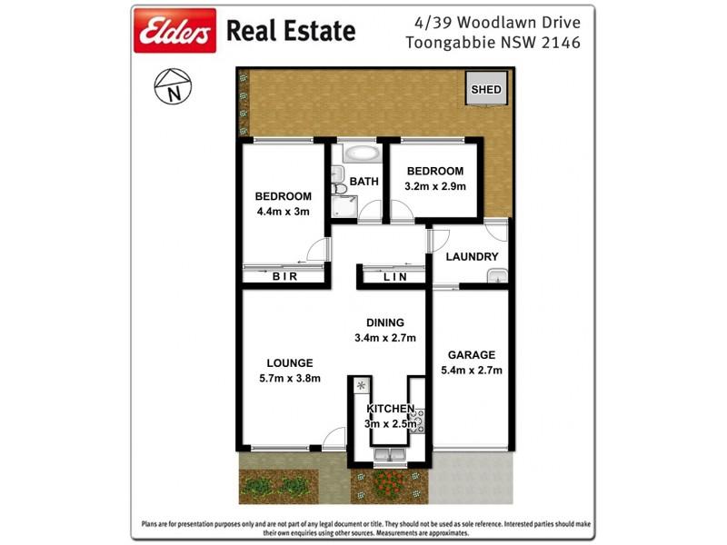 4/39 Woodlawn Drive, Toongabbie NSW 2146 Floorplan
