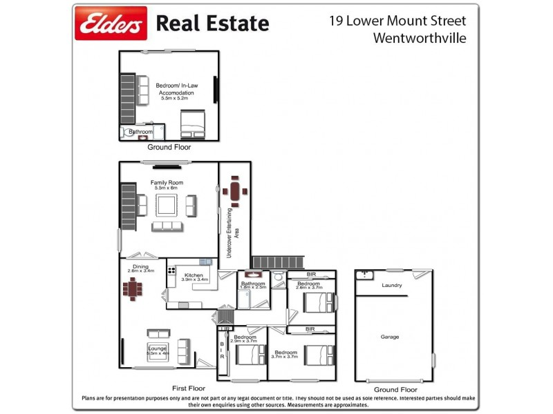 19 Lower Mount Street, Wentworthville NSW 2145 Floorplan