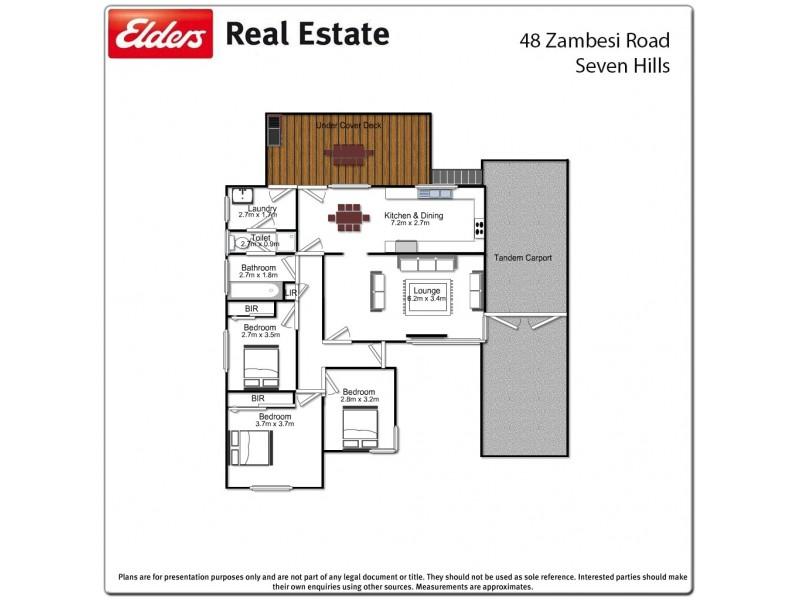 48 Zambesi Road, Seven Hills NSW 2147 Floorplan