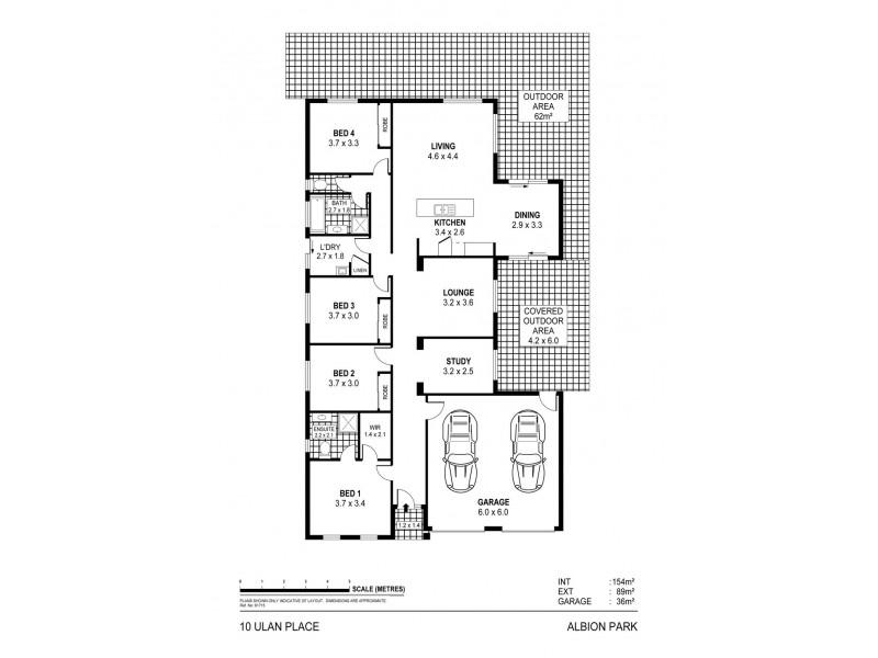 10 Ulan Place, Albion Park NSW 2527 Floorplan