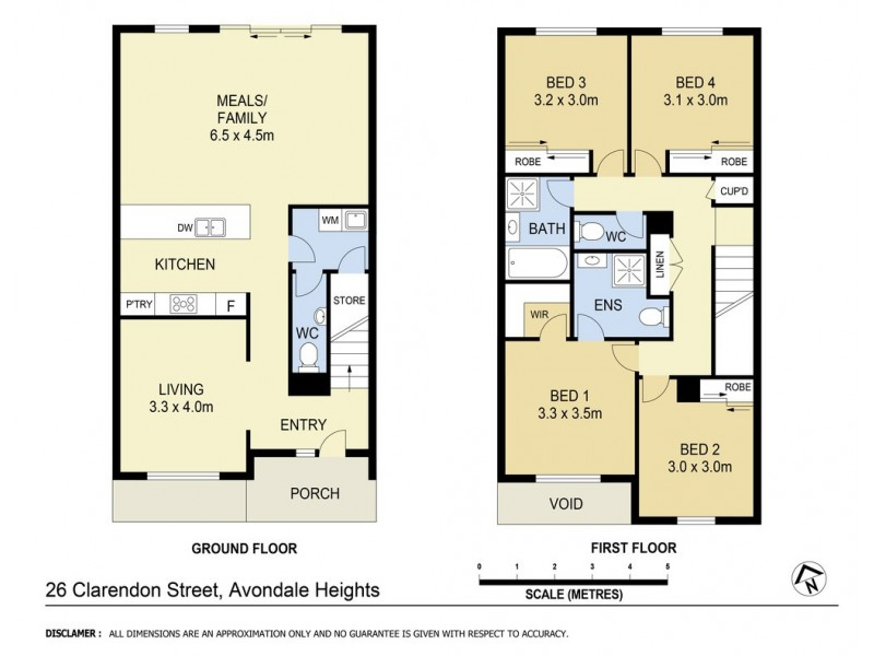 26 Clarendon Street, Avondale Heights VIC 3034 Floorplan