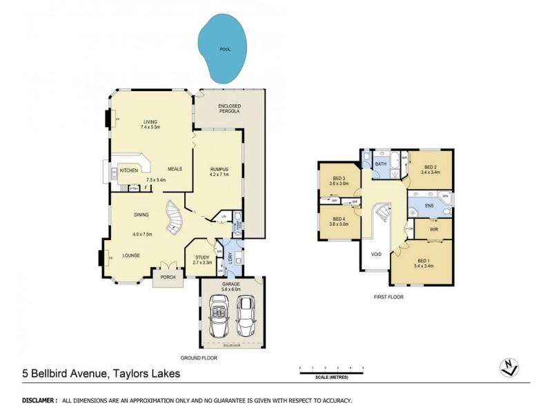 5 Bellbird Avenue, Taylors Lakes VIC 3038 Floorplan