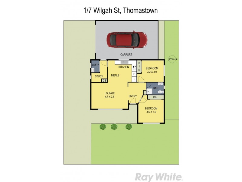 1/7 Wilgah Street, Thomastown VIC 3074 Floorplan