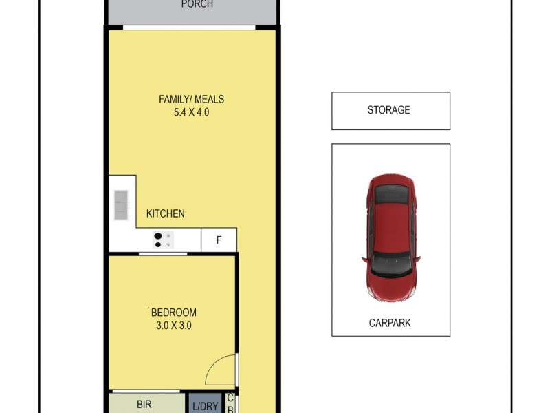 LG04/8 Olive York Way, Brunswick West VIC 3055 Floorplan