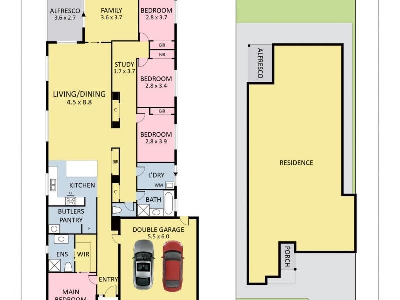 51 Lucknow Drive, Beveridge VIC 3753 Floorplan