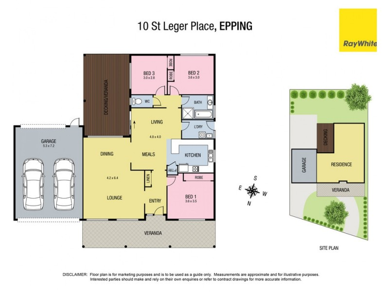 10 St Leger Place, Epping VIC 3076 Floorplan