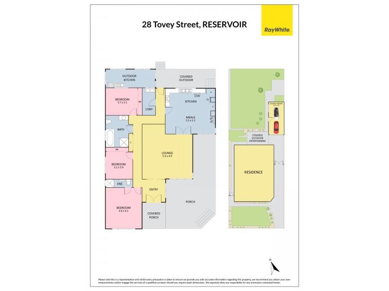 28 Tovey Street, Reservoir VIC 3073 Floorplan
