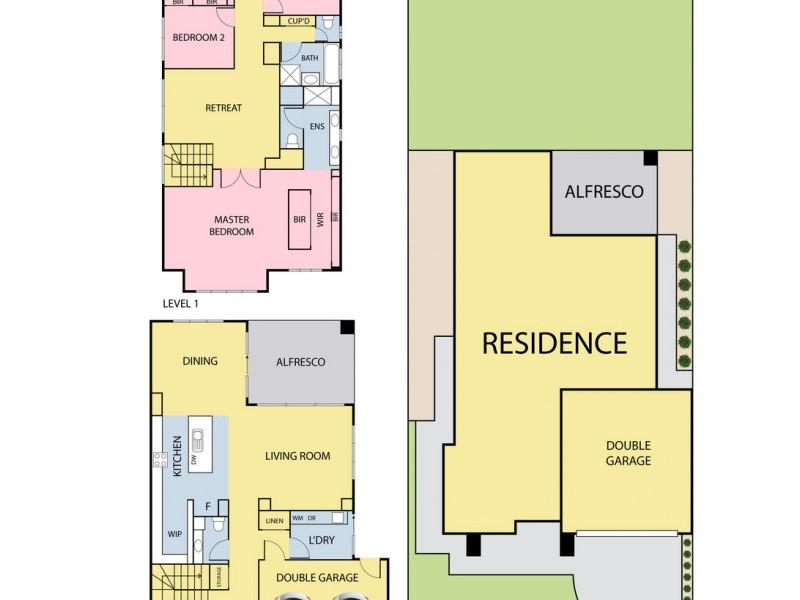 1 Stonrise Street, Wollert VIC 3750 Floorplan