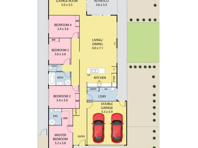 12 Refuge Place, Doreen VIC 3754 Floorplan