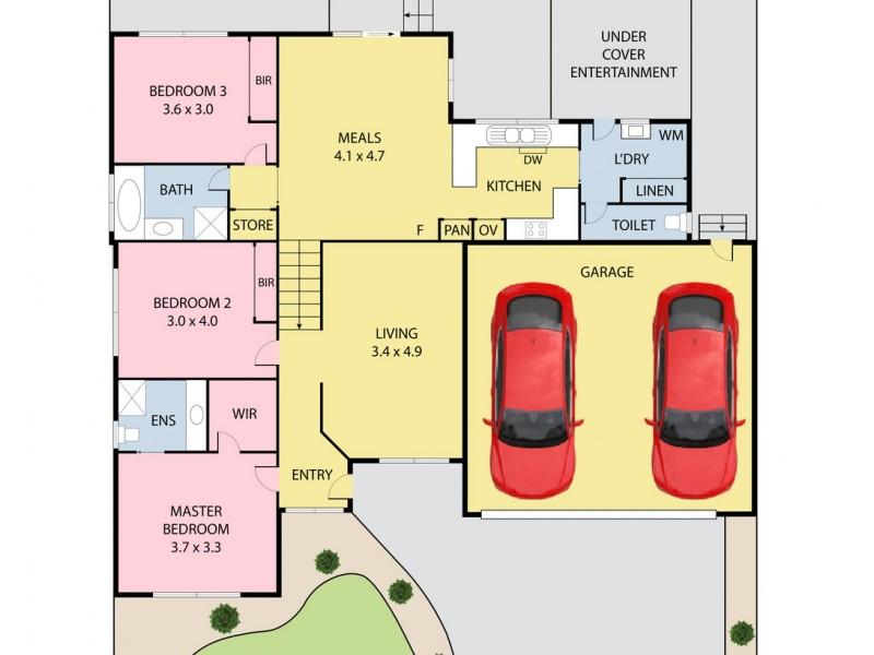 3 Whitney Way, Epping VIC 3076 Floorplan