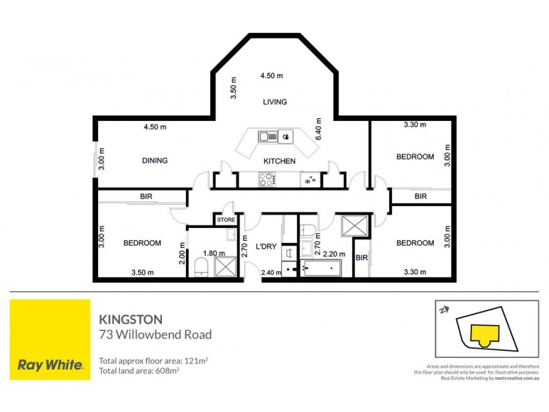 73 Willowbend Road, Kingston TAS 7050 Floorplan