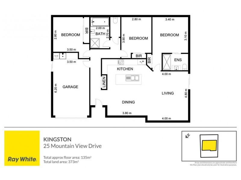 25 Mountain View Drive, Kingston TAS 7050 Floorplan