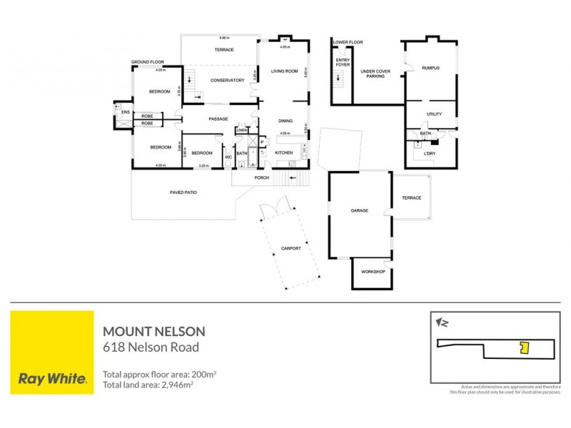 618 Nelson Road, Mount Nelson TAS 7007 Floorplan