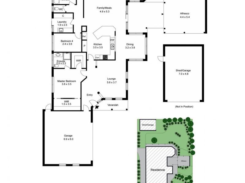 22 Secrets Way, Mount Martha VIC 3934 Floorplan