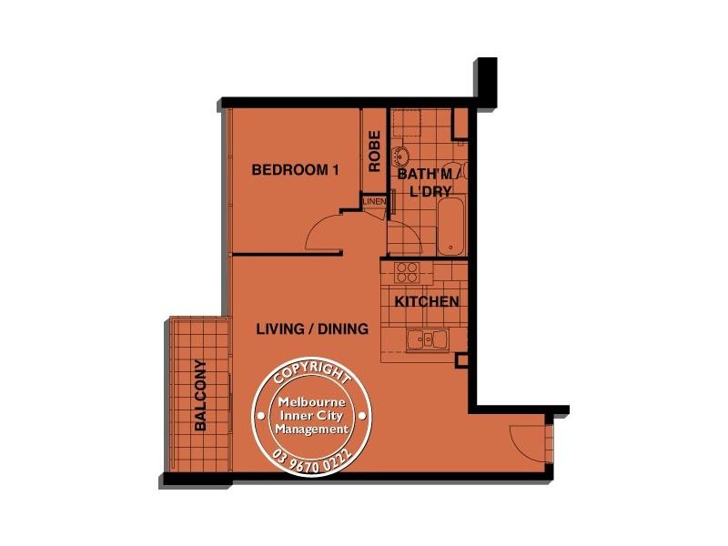 REF 081431/88 Kavanagh Street, Southbank VIC 3006 Floorplan