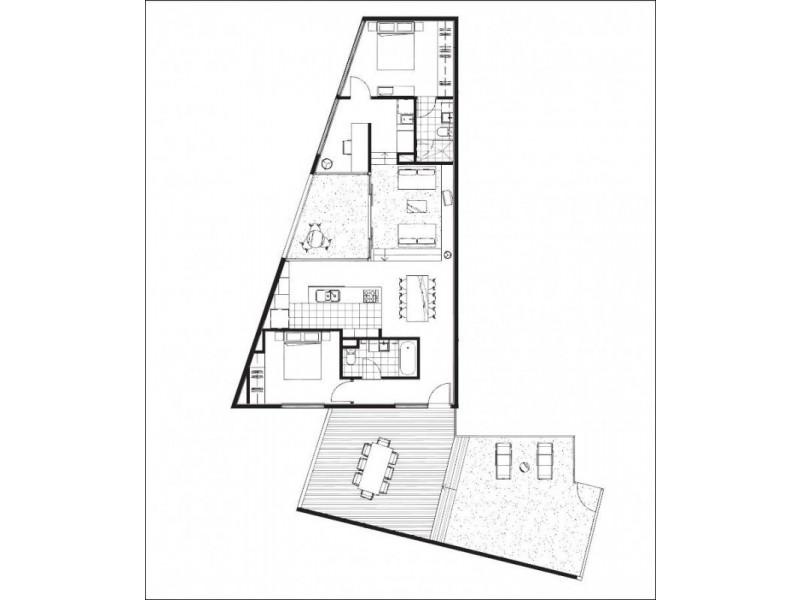 230/9 The Arcade, Docklands VIC 3008 Floorplan