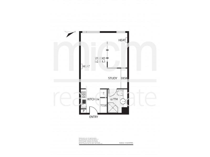 910/800 Swanston Street, Carlton VIC 3053 Floorplan