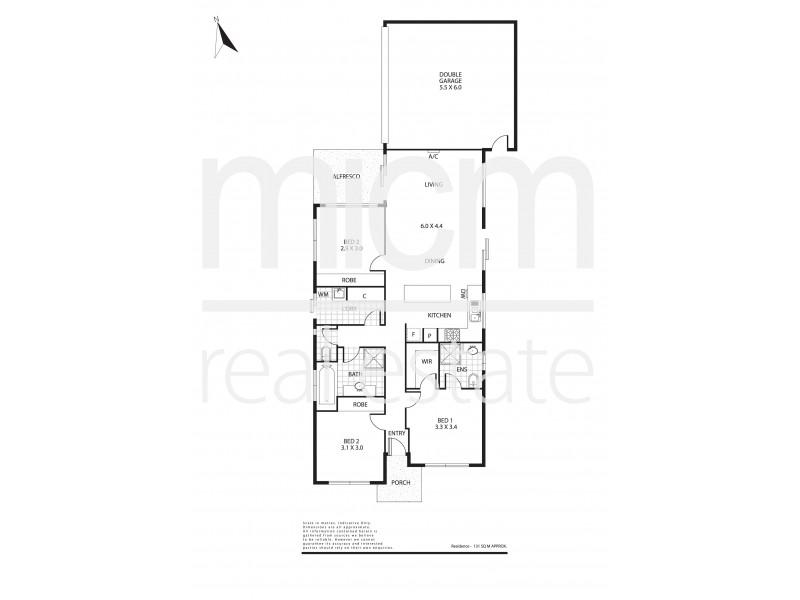 14 Andrew Road, Truganina VIC 3029 Floorplan