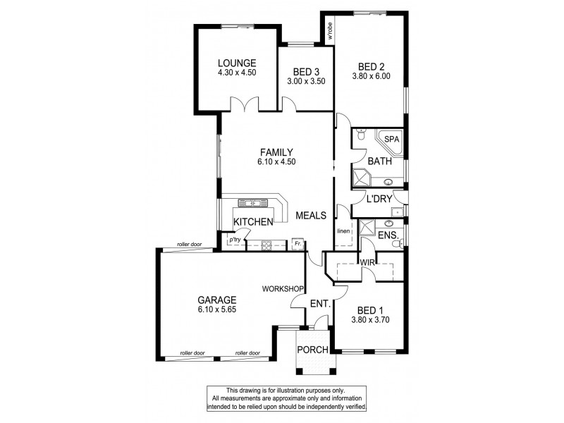 49 Homestead Drive, Aberfoyle Park SA 5159 Floorplan