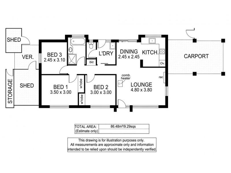 1 Linton Place, Aberfoyle Park SA 5159 Floorplan
