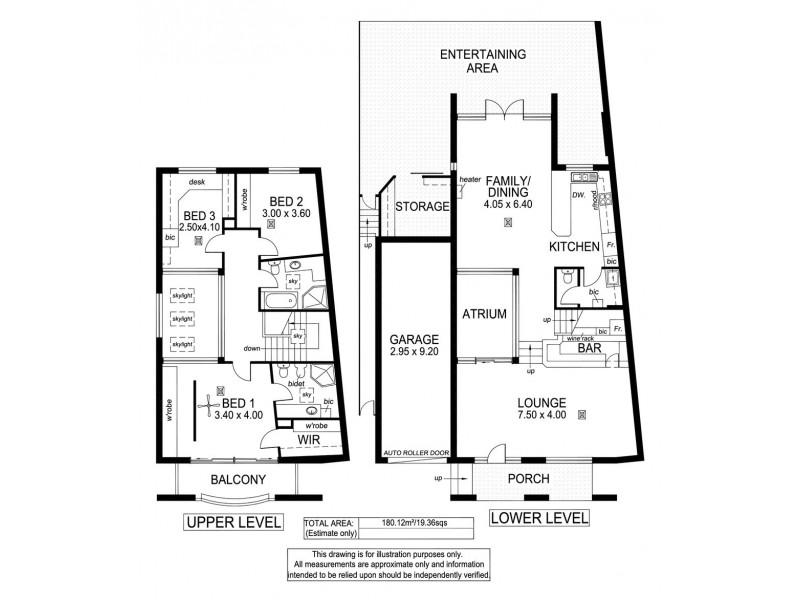 1/19 Coachwood Drive, Aberfoyle Park SA 5159 Floorplan