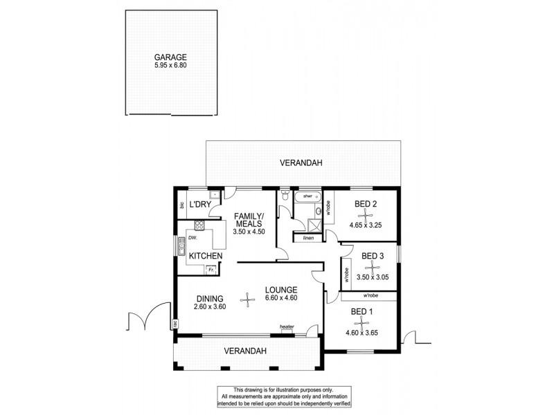 18 Iona Road, Aberfoyle Park SA 5159 Floorplan