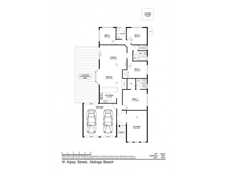 91 Kipsy Street, Aldinga Beach SA 5173 Floorplan
