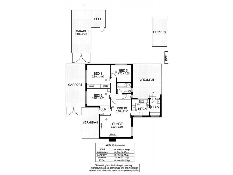 26 Elgin Avenue, Christies Beach SA 5165 Floorplan