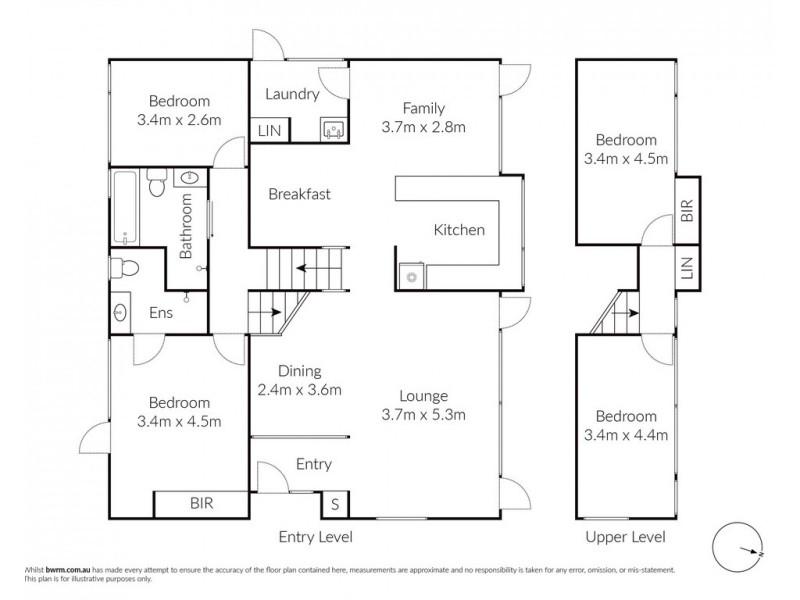2 Rathowen Parade, Killarney Heights NSW 2087 Floorplan