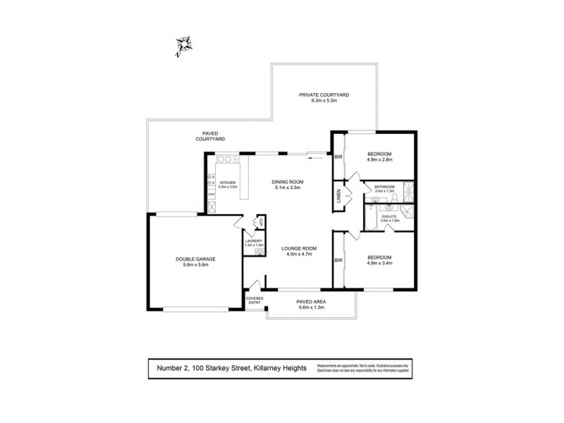 2/100 Starkey Street, Killarney Heights NSW 2087 Floorplan