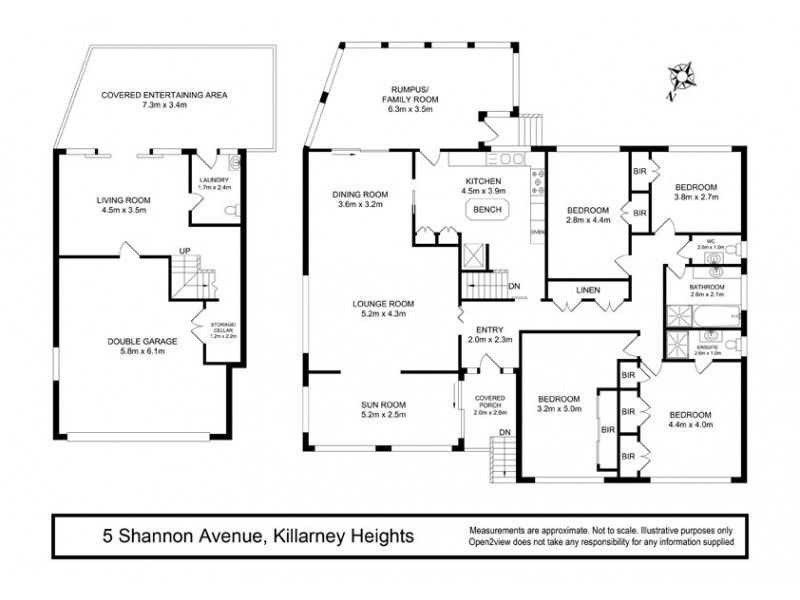 5 Shannon Avenue, Killarney Heights NSW 2087 Floorplan