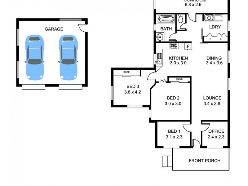 33 Wilburtree Street, Tamworth NSW 2340 Floorplan