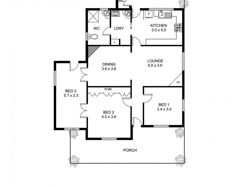 40 Hercules Street, Tamworth NSW 2340 Floorplan