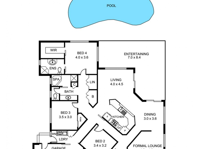 9 Mulconda Close, Tamworth NSW 2340 Floorplan