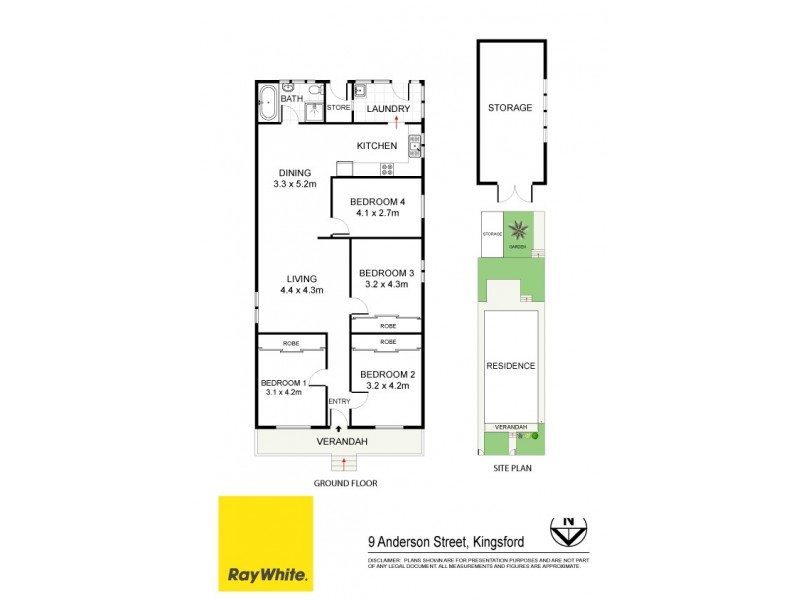 9 Anderson Street, Kingsford NSW 2032 Floorplan