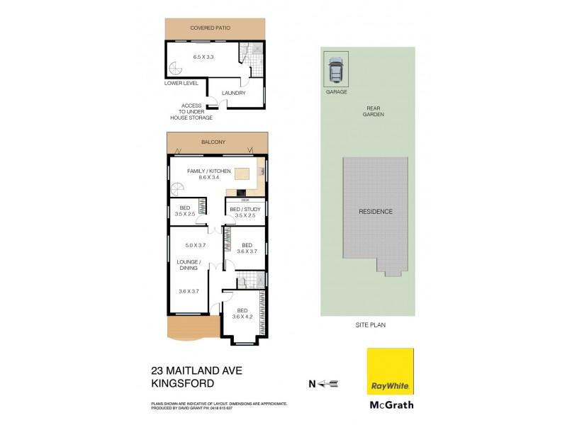 23 Maitland Avenue, Kingsford NSW 2032 Floorplan