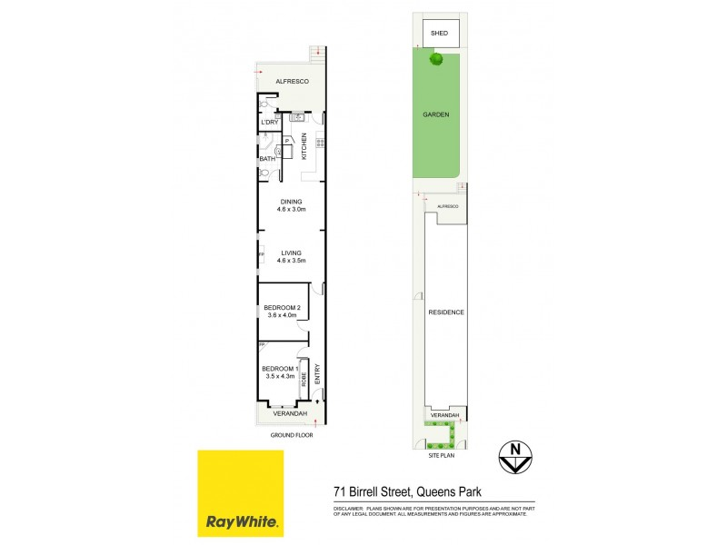 71 Birrell Street, Queens Park NSW 2022 Floorplan