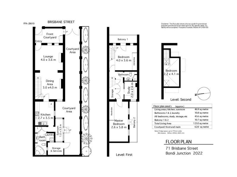 71 Brisbane Street, Bondi Junction NSW 2022 Floorplan