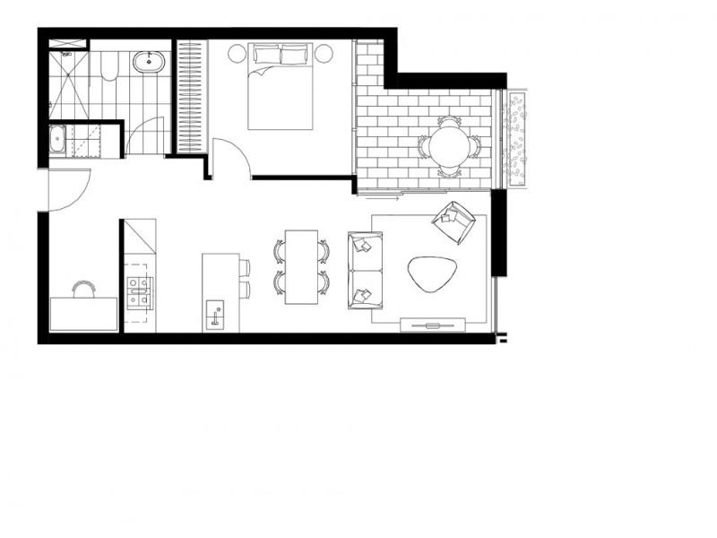 206/73-89 Ebley Street, Bondi Junction NSW 2022 Floorplan