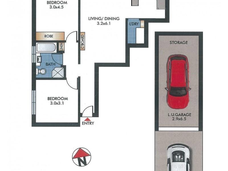 4/276 Birrell Street, Bondi NSW 2026 Floorplan