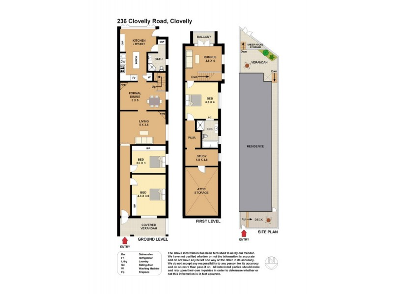 236 Clovelly Road, Clovelly NSW 2031 Floorplan