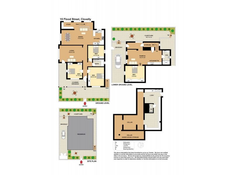15 Flood Street, Clovelly NSW 2031 Floorplan