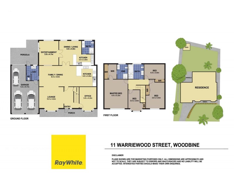 11 Warriewood Street, Woodbine NSW 2560 Floorplan