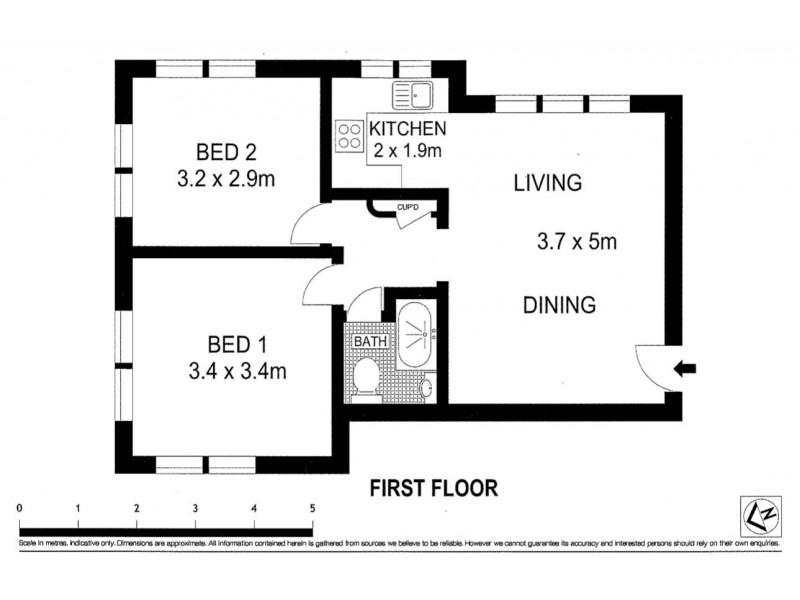26/11 Gilbert Street, Dover Heights NSW 2030 Floorplan