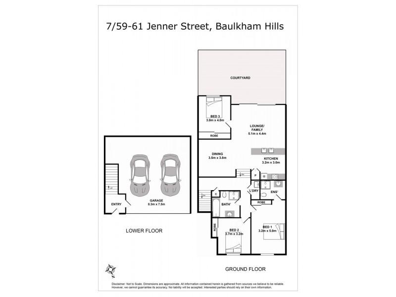 7/59 Jenner Street, Baulkham Hills NSW 2153 Floorplan