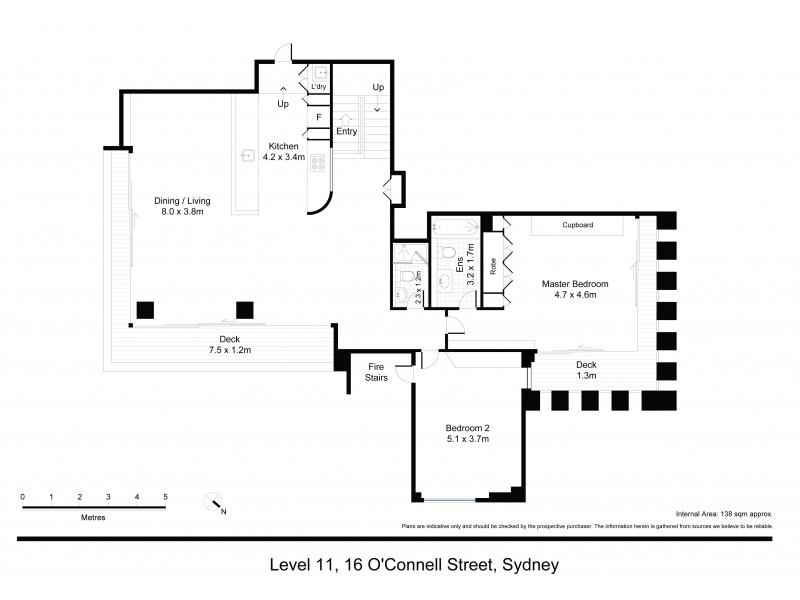 16 / 16 O'Connell Street, Sydney NSW 2000 Floorplan