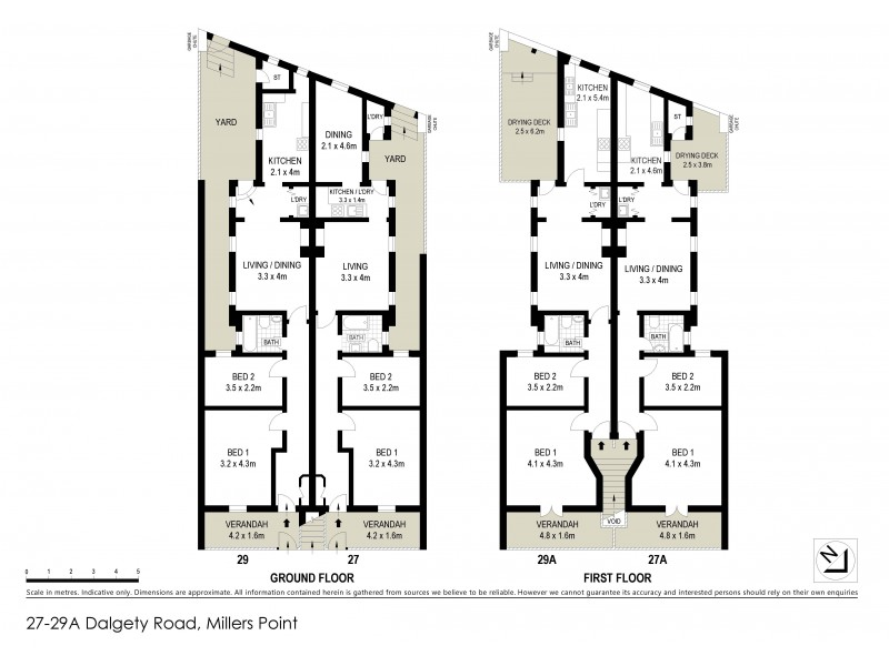 15 – 33A Dalgety Road, Millers Point NSW 2000 Floorplan