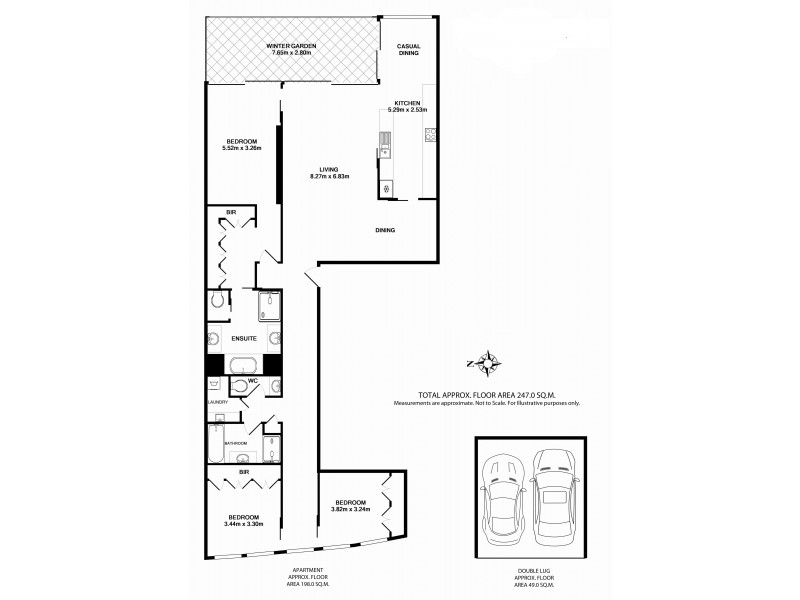 49/155 Macquarie, Sydney NSW 2000 Floorplan